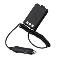 Wholesale Baofeng Dual Charger - Wholesale-12V Car Charger Battery Eliminator for Baofeng Dual Band Radio UV5R 5RA 5RE Two Way radio Walkie Talkie Accessories