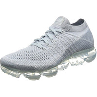 Wholesale Mens Light Blue Shoes - New Vapormax Mens Running Shoes For Men Sneakers Women Fashion Athletic Sport Shoe Hot Corss Hiking Jogging Walking Outdoor Shoe