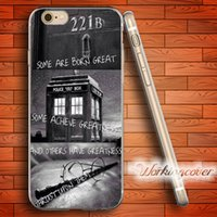 Wholesale Iphone 4s Sherlock - Capa Sherlock Harry Potter Soft Clear TPU Case for iPhone 7 6 6S Plus 5S SE 5 5C 4S 4 Case Silicone Cover.
