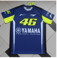 Wholesale Lace Flower Overall - cross-country motorcycle outdoor locomotive short sleeve T-shirt cycling jerseys overalls downhill elf Yamaha vr46 factory racing shirts
