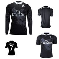 Wholesale Madrid 14 - 2014 2015 Real madrid soccer Jerseys 14 15 RONALDO JAMES BALE Benzema RAMOS ISCO home away 3rd football shirt retro Dragon jerseys