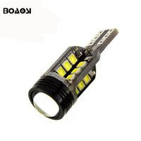 Wholesale W16w Led Bulb - New Canbus 10w T15 912 921 W16W LED Reverse Lights W16W 24SMD Car LED NO ERROR Backup light Parking Lights Lamp Bulbs
