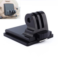 Wholesale Hero2 Accessories - Sports Camera Go Pro Accessories Helmet Aluminum Fixed Mount for Camera Gopro Hero3 Hero2 HD and NVG Mount Base Best quality