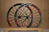 Wholesale Chinese Wheel Bike - 700C 38mm Carbon Wheels Clincher Tubular Road Bike Bicycle Wheels Chinese Cheap Carbon Wheels Racing Wheelset