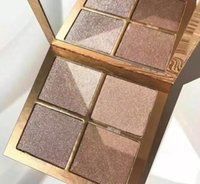 Wholesale Naked Concealer Palette - HOT Kylie Jenner The Wet Set 4color Bronzer & Highlighters Pressed Powder Palette Unbothered Get A Way By Kylie Cosmetics naked lorac mua