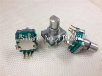 Vente en gros- [BELLA] Japon ALPS volume potentiomètre navigation EC11 type codeur avec 30 points en commutant en mode vert - 10pcs / lot