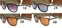 ingrosso occhiali da sole a strisce-estate designer occhiali da sole ciclismo occhiali da sole per le donne fashion mens stripe Driving Glasses riding wind mirror Occhiali da sole cool