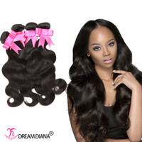 Wholesale Body Wave Human Hair Weave Natural Human Hair Extensions Cheap a Grade Brazilian Virgin Hair Bundles Natural Color