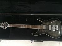 Wholesale mahogany ship models - 6 string Hellraiser Hybrid model electric guitar 6 string DIAMOND SERIES floyd rose bridge custom guitar with free shipping