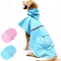 Wholesale Pet Dog Rain Coat Hoodie - Hot Selling Dog Raincoat Pet Puppy Hoodie Clothing Reflective Jacket Rain Coat Spring and Summer Style Pet Dog Supplies JJ0162