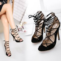 Wholesale 2017 spring and summer new fashion high heels women with banded with high windsurfing shoes in Rome