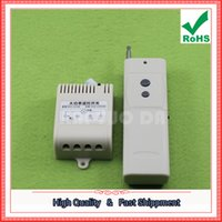 Wholesale Remote Motor Switch - Free Ship 1pcs 220V single wireless water pump remote control 3000 meters distance high-power motor remote control switch 0.2kg