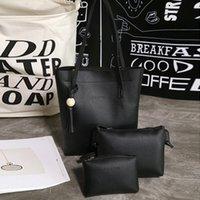 Wholesale Leisure Suit Pictures - Three piece suit 2017 new PU bag female single shoulder bag handbag style Fashion leisure picture bulk bag ladies
