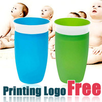 Wholesale Plastic Juice Cups - 360 Degree Spoutless baby Trainer Cup BPA Free Sippy Cup Juice Cups for Toddlers & Preschoolers by Spoonst