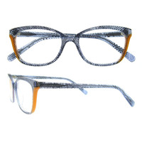Wholesale Vintage Glass Patterns - New Vintage Eyeglasses Frame with Innovative Line Pattern Design Men Women Fashion Glasses Optical Plain Eyeglasses Frame