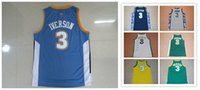 Baseball sport answers - The Answer Allen Iverson Mens Jerseys Top quality Size S XXL Men Sport Jersey