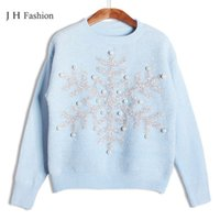 Wholesale Womens Christmas Knit Sweaters - Wholesale-Sweaters women pull femme hiver pullovers and sweaters christmas women pullover knitted sweater for womens jumpers 2015 Winter
