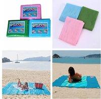 Wholesale Mat Foam Pad - 2017 Hot Summer Magical Sand Free Beach Blanket Sand Proof Picnic Camping Mat Sandless Mat Sand Free Mat 150*200cm DZ01