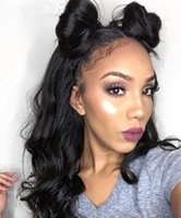 Cheap Price Lace Wigs With Baby Hair Couleur naturelle Peruvian Human Hair Perruques en dentelle suisse pour Lady Front / Full Lace Wigs Stocked