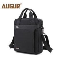 Wholesale Executive Bags - AUGUR Business Men's Briefcase Portfolios Shoulder Bag For Men Handbag Male Executive Briefcase for Documents Tablet