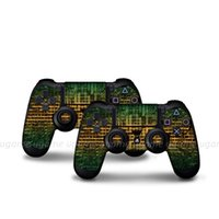 Wholesale Playstation4 Controller - PVC game controllers protector sticker decal cover soft skin cover for playstation4 hot sale line series
