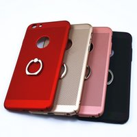Wholesale Cool Apple Skins - For iphone 7 Ventilate PC Phone Cases Cooling Heat Dissipation Back Cover Shockproof Protective Shell Skin For Iphone 7 Plus