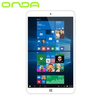 Vente en gros - Original Onda V820w CH Inte Cherry Trail Atom X5 Z8300 Quad Core Windows 10 OS 8 pouces 1280 * 800 IPS Ecran 2 Go RAM 32 Go ROM