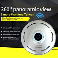 Wholesale Infrared Camera Webcam - Newest 360 Graden smart panoramin webcam Mini draadloze camera IP camera 960 P wifi ondersteuning P2P tweeweg audio360 Graden smart panorami