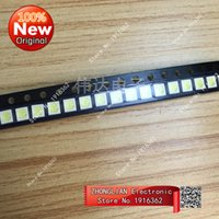Wholesale Imports Tv - Wholesale- 100PCS lot LED LCD TV backlight 3030 SMD beads imported 1W cold white cold white voltage 6V