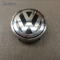 Wholesale Volkswagen Airbag - 1piece Car Styling Airbag Cover Badge For VW Volkswagen Steering Wheel Emblem AirBag Cover Logo Free Shipping