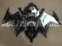 Wholesale Half Fairing - New ABS Injection mold Fairing kits 100% fit For Kawasaki Ninja300 13 14 15 16 Ninja 300 EX300 2013 2014 2015 2016 half color black white
