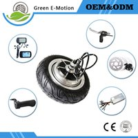 Wholesale electric scooter hub motor kit - Powerful light 9 inch electric bicycle wheel motor 24v 200w 250w 350w 500w brushless hub motor kit electric scooter motor wheel