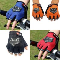 Wholesale Hot Body Workouts - Hot Sports Gym Gloves Men Fitness Training Exercise Anti Slip Weight Lifting Gloves Half Finger Body Workout Men Women Glove