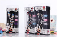 Wholesale Minion Despicable Tablet - 3D Despicable Me Minions Headphone 3.5MM Earphones In-Ear Earphone for iphone Samsung cell phone MP3 MP4 Universal Cellphone Tablet PC