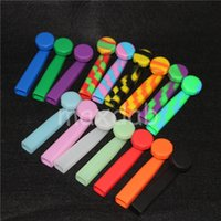 Wholesale Glass Smoking Pipes For Cheap - Cheap hand pipes Silicone vs glass spoon pipes with lid wholese price smoking pipes silicone bubbler bong smoking accessories for tobacco