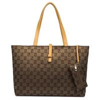 Wholesale Belt Buckle Pu Leather Handbag - Luxury Handbags Shoulder Bag Designer Female Ladies Handbag PU Leather Bag Wild Commute Belt Buckle Bags Large High Quality Shopping Bags