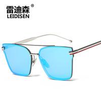 Wholesale Personality Glasses For Women - 2017 Unique Design Love the sun glasses personality fashion street men sunglasses women sunglasses for Multicolor glasses AY7078 wholesale