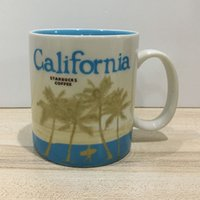 Wholesale starbucks ceramic coffee cups - 16oz Capacity Ceramic Starbucks City Mug Best Classical Coffee Mug Cup with Original Box California City