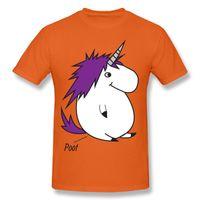 Wholesale Red Chubby - Best Choice Funny Chubby Unicorn 3D Cartoon Print T-shirt Hip Hop Tide Street mens Short Sleeve T-shirt 5XL