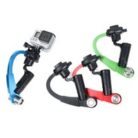 Wholesale Steady Stabilizer - Sports Action Camera stabilizer Handheld Stabilizer Steady Steady for Camera for sj4000 xiaomi yi DHL FREE SHIPPING