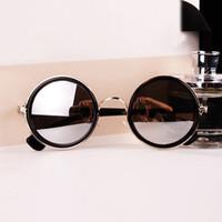 Wholesale cheap vintage eyewear - Wholesale-Hot 2016 Brand New Luxury Women Mens Round 50s Retro Vintage Sunglasses Mirror Lens Sun Glasses Eyewear Cheap gafas de sol Z1