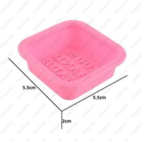 Wholesale Oven Cake Molds - Newly Design Hot Selling Delicate Cute Craft Art Square Silicone Oven Handmade Soap Molds DIY Soap Mold 300pcs Free shipping