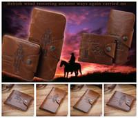 Wholesale Leather Wallet Cowboy Men Pockets - 501 Card Clutch Men Brand Leather Wallet Cowboy Pockets soft bifold credit card holders wallets Retro Classic wallet long KKA1601