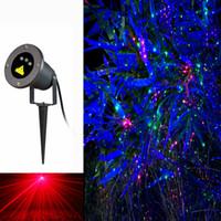 nueva luz impermeable al aire libre del jardn de la luz laser de la lucirnaga