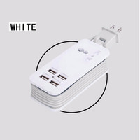 Wholesale Charger Extension - Fast Charging 4 Ports Wall Socket Universal USB Power Strip Portable Charger Travel Adapter Extension Cord Cable EU US Plug