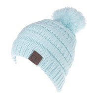 fd92d8130c7 Hot Sale CC Beanie Kids Knitted Hats Kids Chunky Skull Caps Winter Cable  Knit Slouchy Crochet Hats Outdoor Warm Beanie Cap KKA2280