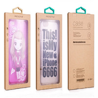 Wholesale pvc window designs - Colorful Personality Design Luxury PVC Window Packaging Retail Package Paper Box for Smart Phone Cell Phone Case Gift Pack Accessories DHL