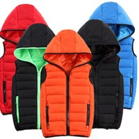 Wholesale Cheapest Mens Casual Jacket - Cheapest Mens Warm Vest Waistcoat Winter Jackets Coats Sleeveless Hoodies Thickening Outwear Overcoat Plus Size 2XS-3XL High Quality