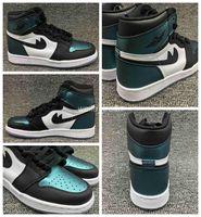 Wholesale Hi Basketball Shoes - Newest Air RETRO 1 I HI OG AS BG Women Men Basketball Shoes chameleon Retros 1s Sport Shoe Womens Mens Basket ball Sneakers