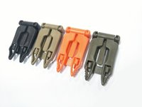 Wholesale Assorted Color Ribbons - Nylon ITM Molle Clip Elastic String Backpack Accessories Clamp Connection Buckle Apply for 1 Inches Ribbon Color Assorted 5.5*3cm A469